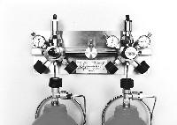 Panel kompaktowy 1 stacja butli; 2 x 1 stacja butli z autom. przełączaniem; 2 x 1 stacja butli
