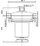 Regulus stalowy Reduktor dla niskich ciśnień i przepływów (gazy o czystości 5.0)