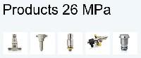 Produkty do systemów ciśnieniowych 26 MPa