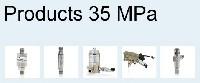 Produkty do systemów ciśnieniowych 35 MPa