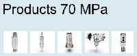 Produkty do systemów ciśnieniowych 70 MPa